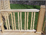 Siberian Larch  Products - Stein Wood Construction - Railing Design - Chattanooga, TN