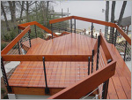 Siberian Larch Products - Stained Siberian Larch Deck