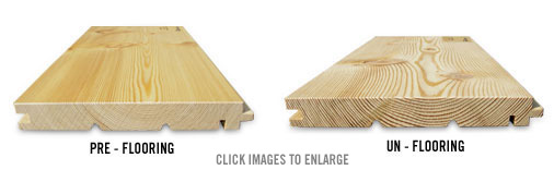 Siberian Larch Decking Profiles